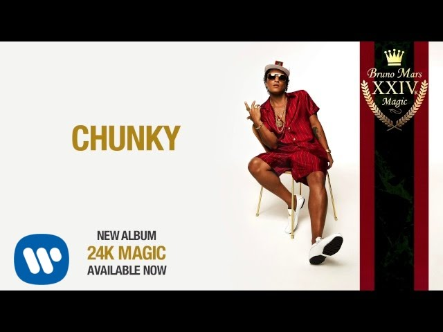 Bruno Mars – Chunky [Official Audio]