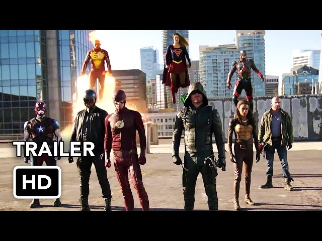 The Flash + Arrow + Supergirl + DC's Legends of Tomorrow4 Night Crossover Event Trailer(HD)